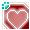[Animal] Hearts Card Frame - virtual item